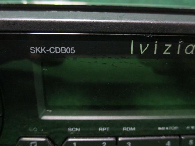 #2906 Ivizia/イノベイティブ CDプレーヤー SKK-CDB05 【Bluetooth接続/MP3・WMA対応/フロントUSB/ハンズフリー】_画像4