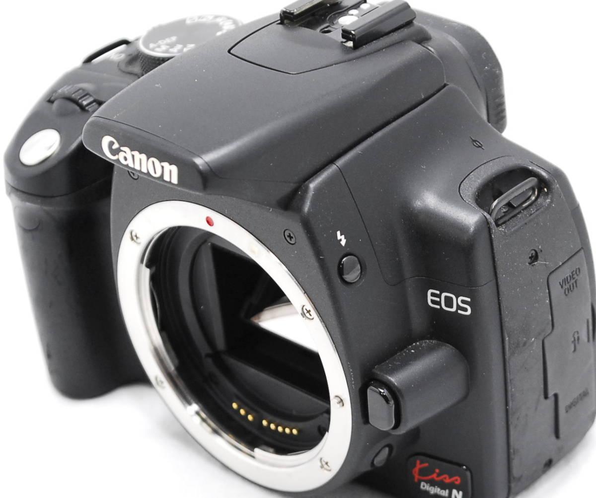 【動作未確認・ジャンク】Canon キヤノン EOS Kiss N_画像4