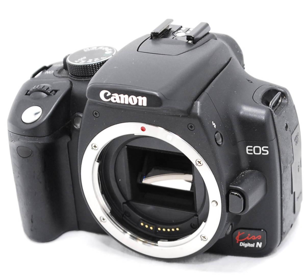 【動作未確認・ジャンク】Canon キヤノン EOS Kiss N