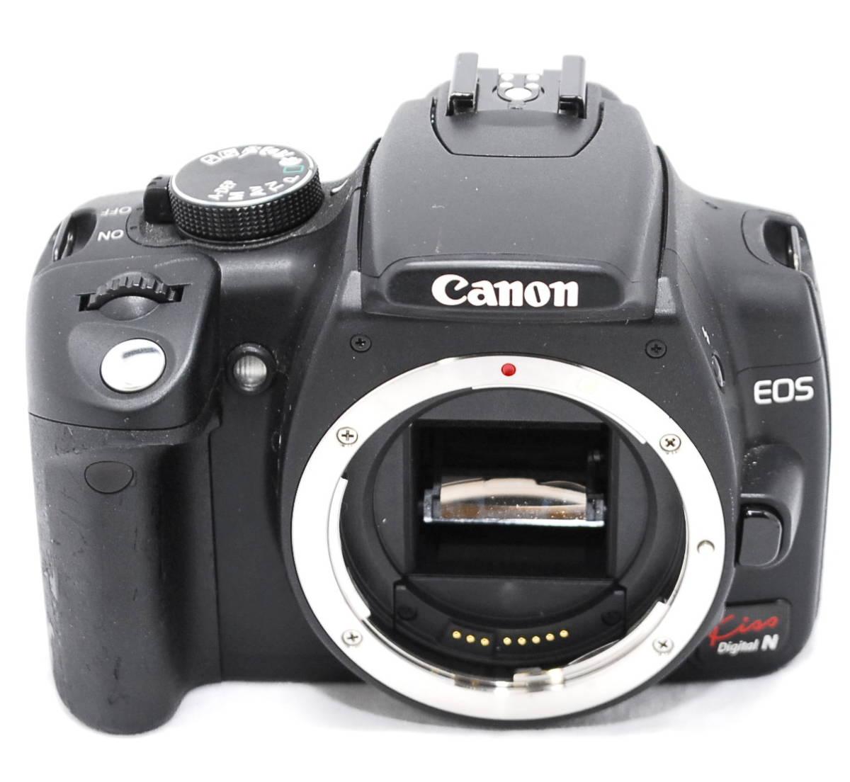 【動作未確認・ジャンク】Canon キヤノン EOS Kiss N_画像2