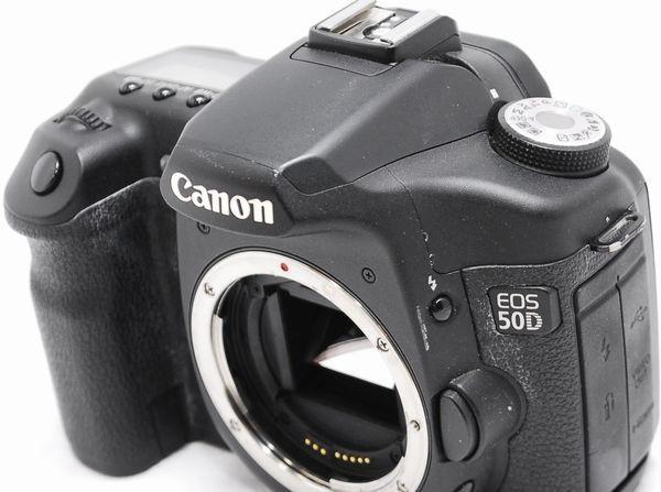 【通電OK・動作未確認】Canon キヤノン EOS 50D ジャンク_画像4