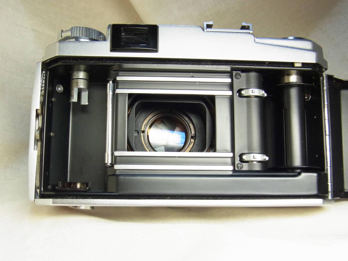 コニカ Ⅲ Konishiroku Hexanon 1:2 f=48mm 動作確認済み 使用感のない美品です。_画像6