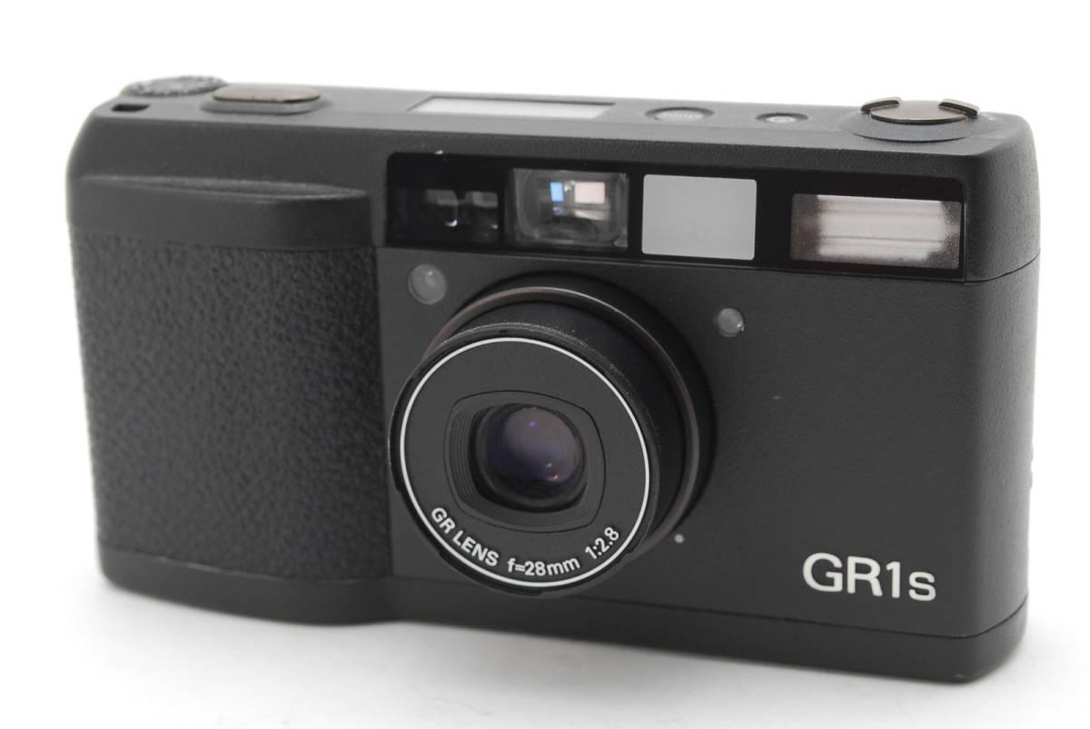 RICOH GR1S ブラック リコー コンパクト フィルムカメラ 1099J_画像1