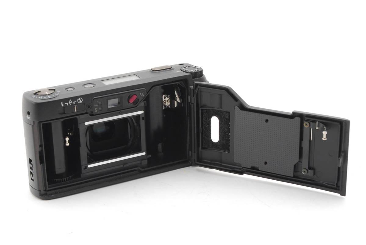 RICOH GR1S ブラック リコー コンパクト フィルムカメラ 1099J_画像9