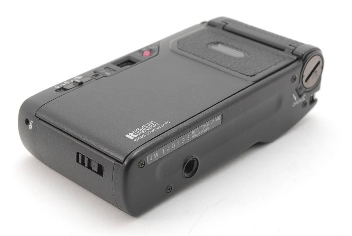 RICOH GR1S ブラック リコー コンパクト フィルムカメラ 1099J_画像8