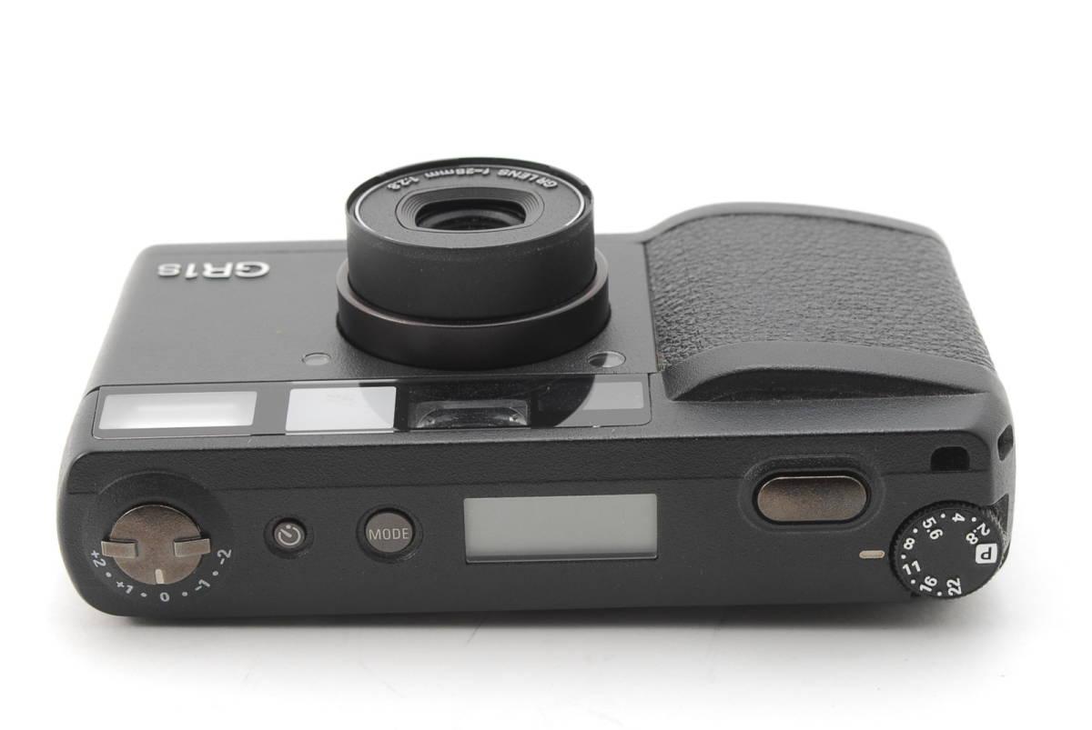 RICOH GR1S ブラック リコー コンパクト フィルムカメラ 1099J_画像5