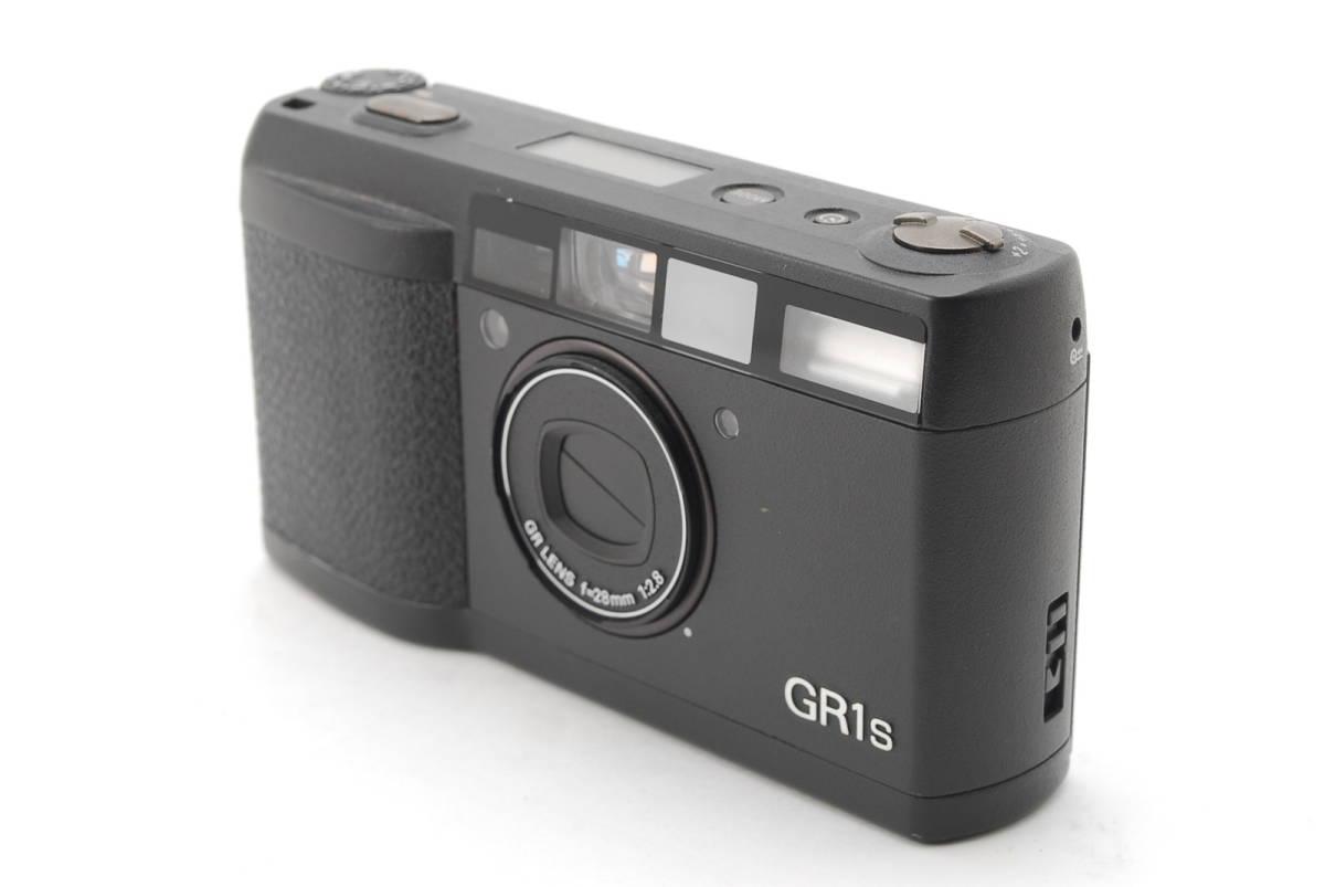 RICOH GR1S ブラック リコー コンパクト フィルムカメラ 1099J_画像2