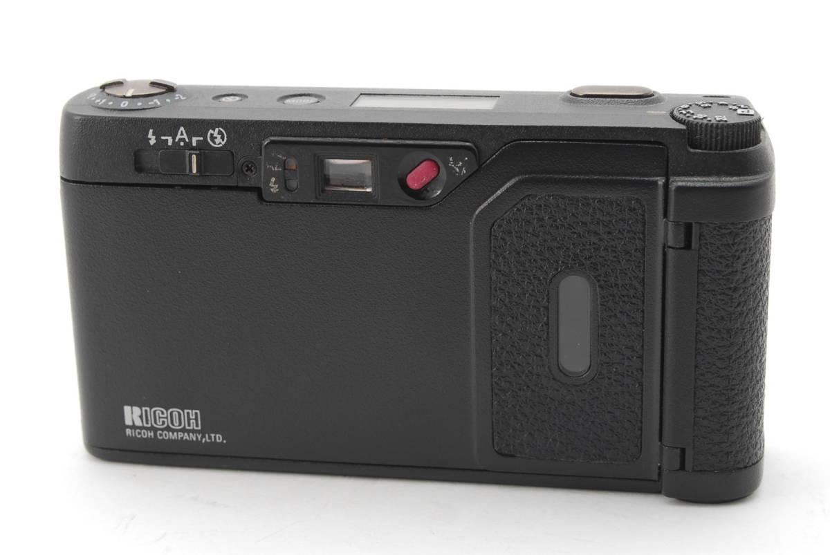 RICOH GR1S ブラック リコー コンパクト フィルムカメラ 1099J_画像6