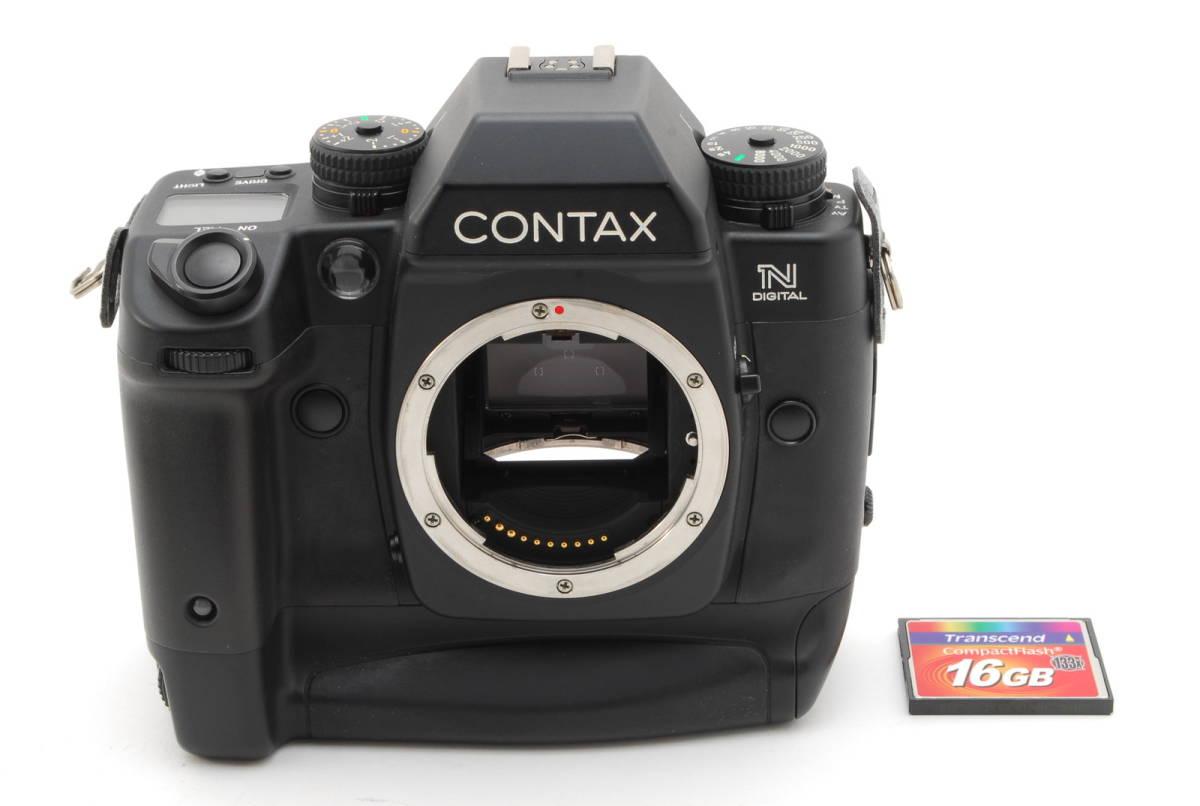 希少 CONTAX N DIGITAL コンタックス デジタルカメラ 1183J_画像2