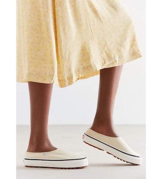 【USA購入 正規新品】VANSバンズ 23.5cm アナハイムファクトリー STYLE17 スタイル17 デラックス ホワイト ビンテージ 靴シューズ☆9c29_画像7