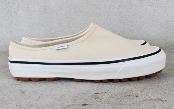 【USA購入 正規新品】VANSバンズ 23.5cm アナハイムファクトリー STYLE17 スタイル17 デラックス ホワイト ビンテージ 靴シューズ☆9c29_画像3
