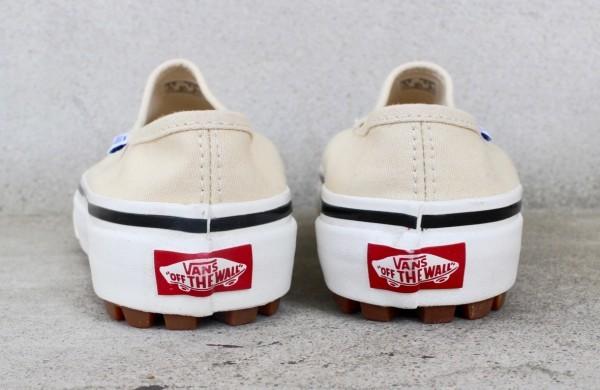 【USA購入 正規新品】VANSバンズ 23.5cm アナハイムファクトリー STYLE17 スタイル17 デラックス ホワイト ビンテージ 靴シューズ☆9c29_画像4