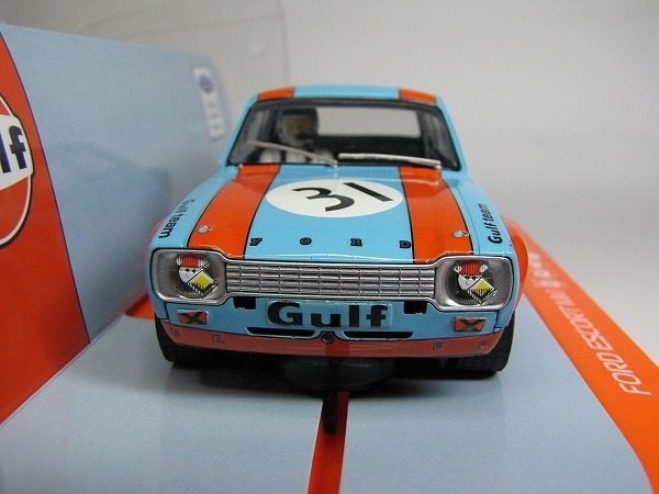 1/32 Scalextric GULF FORD ESCORT MK1 1972 新品未走行_画像5