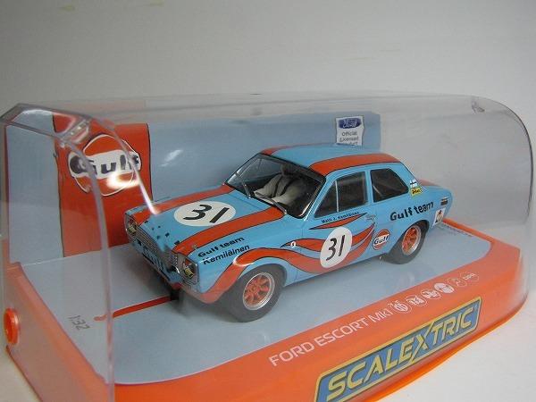 1/32 Scalextric GULF FORD ESCORT MK1 1972 新品未走行_画像7
