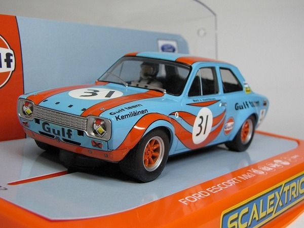 1/32 Scalextric GULF FORD ESCORT MK1 1972 新品未走行