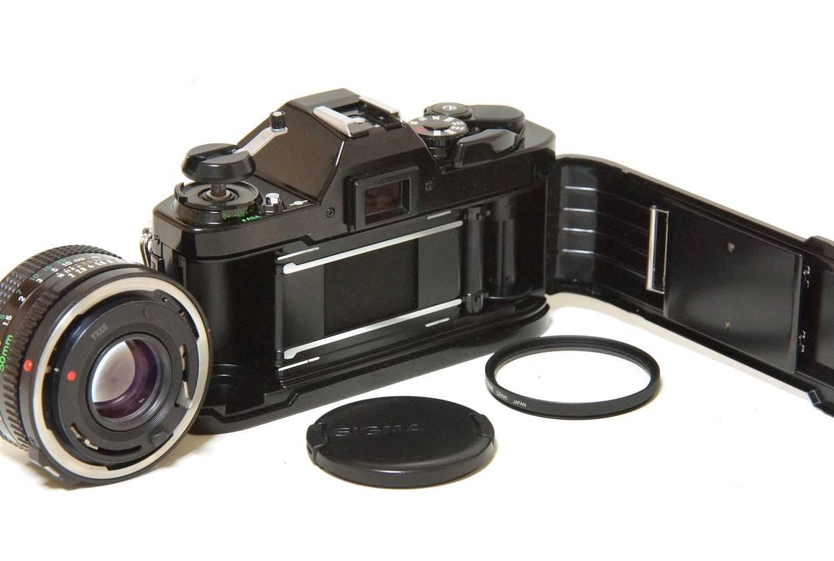 Canon AL-1 NewFD50mmF2.0標準レンズセット【動作確認済】_画像8