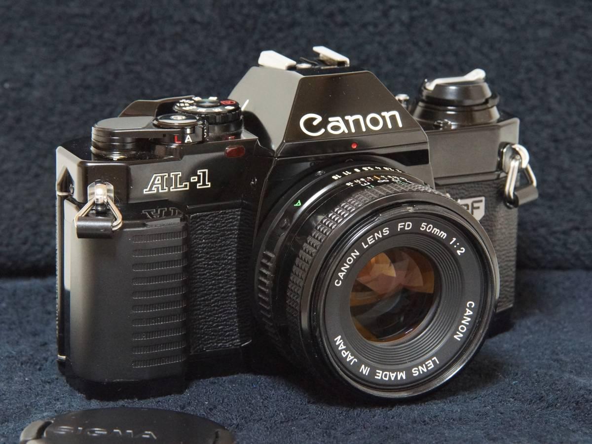 Canon AL-1 NewFD50mmF2.0標準レンズセット【動作確認済】_画像1