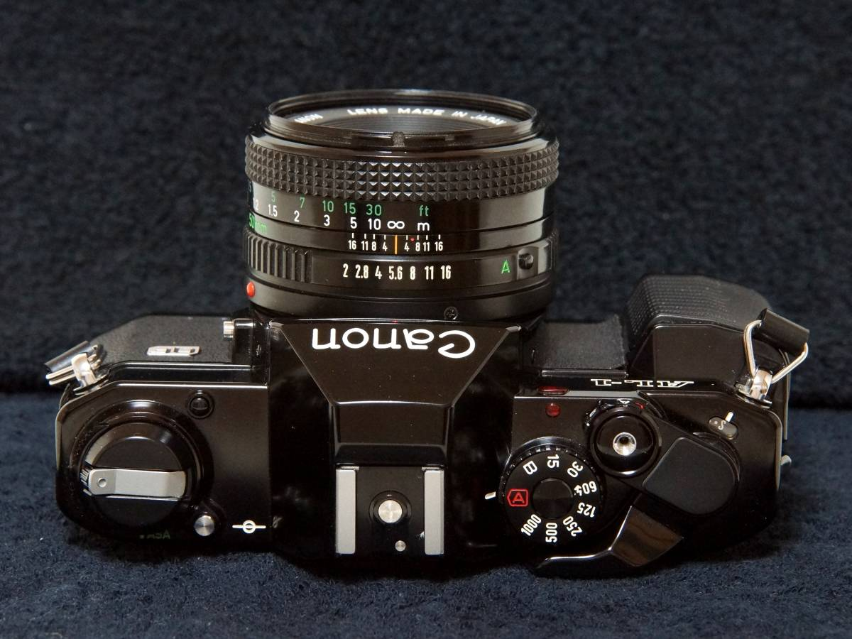 Canon AL-1 NewFD50mmF2.0標準レンズセット【動作確認済】_画像4