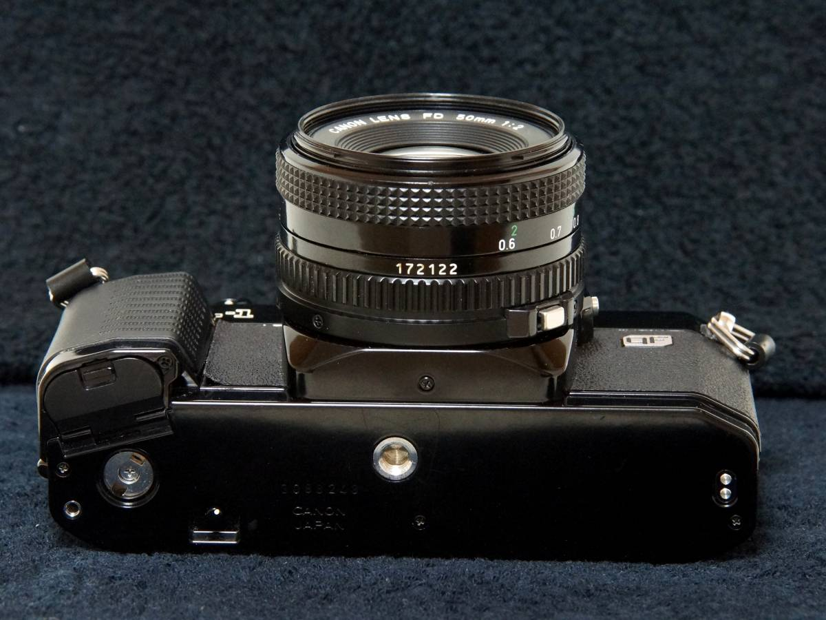 Canon AL-1 NewFD50mmF2.0標準レンズセット【動作確認済】_画像5