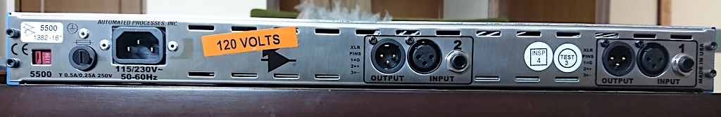 API 5500 Dual Equalizer_画像2