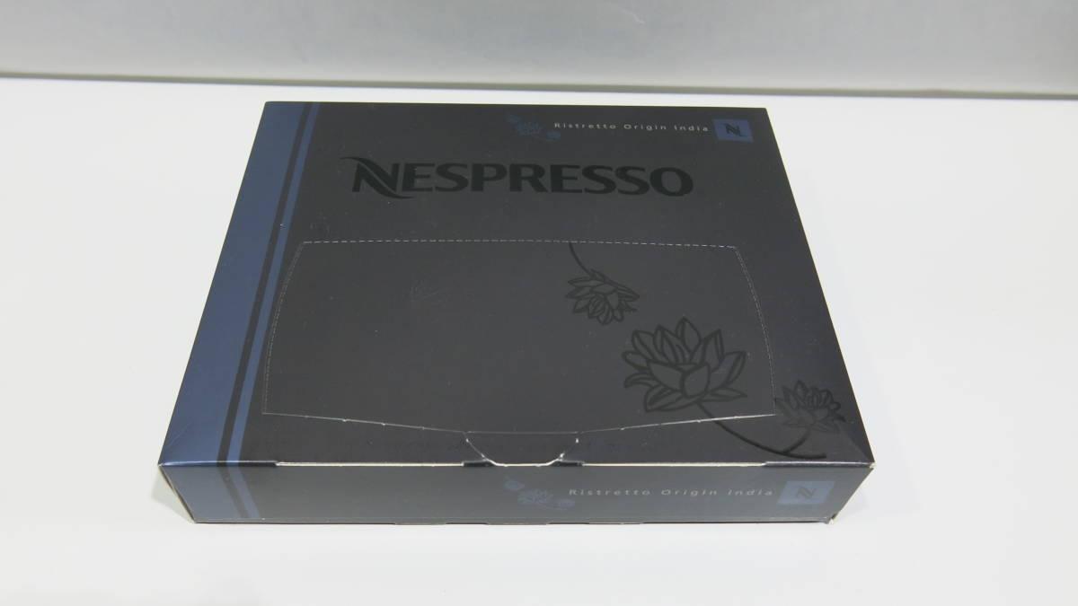 新品 50入×3箱 開封有 NESPRESSO Ristretto Origin India ネスプレッソ リストレット オリジン インディア コーヒー ポッド 期限2019.6.30_画像2