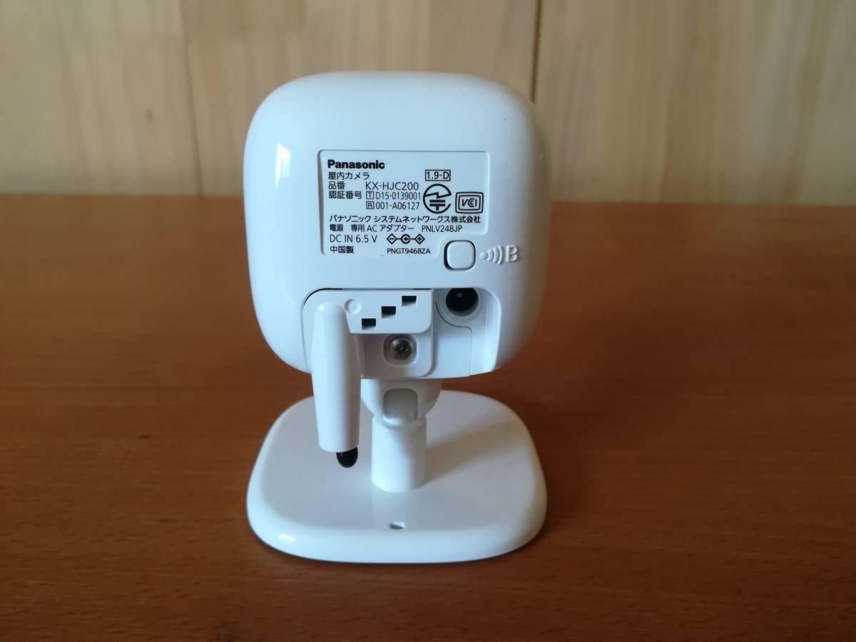 Panasonic ホームネットワーク おはなしカメラキット KX-HC500K、屋内カメラ KX-HJC200のセット_画像5