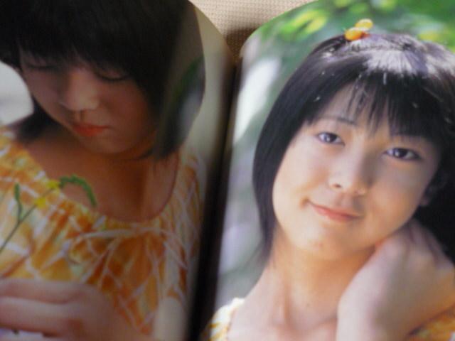 松坂祥子写真集Clear Glass 」送120~ セーラー服スクール水着など _画像5