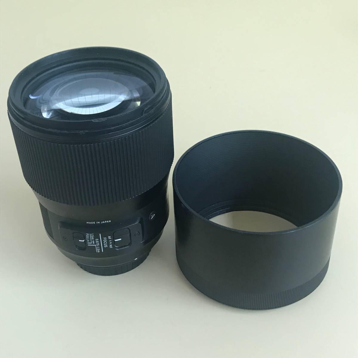 SIGMA シグマ 135mm f1.8 DG HSM Canon用_画像3