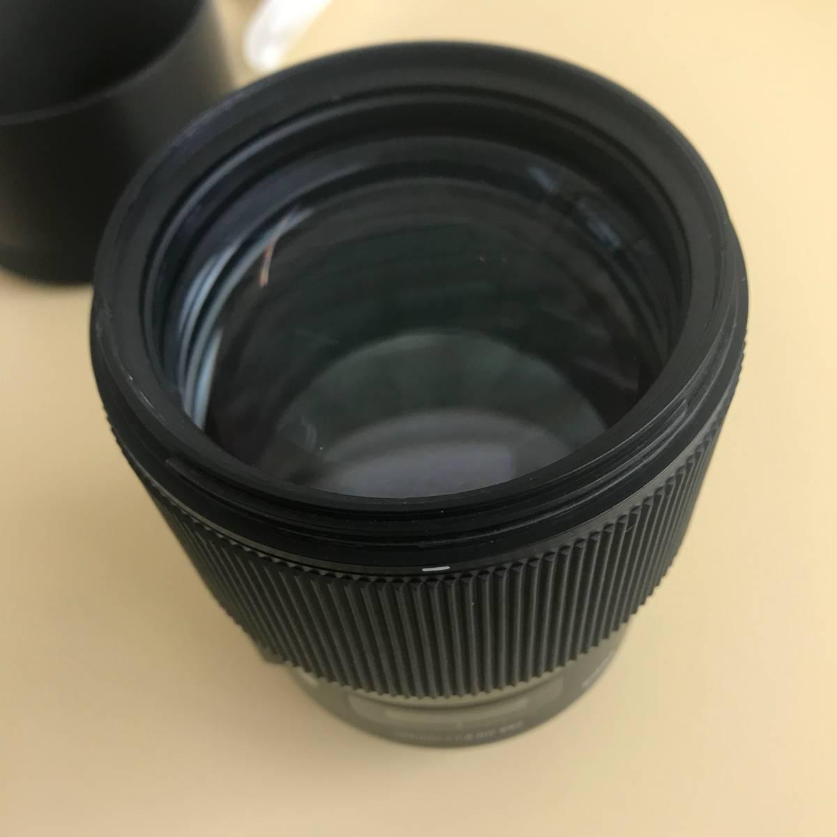 SIGMA シグマ 135mm f1.8 DG HSM Canon用_画像4