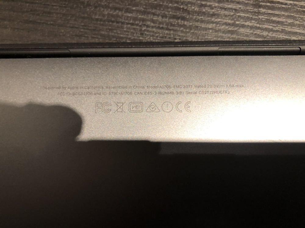 《ジャンク》MacBookPro 2016 touchbarあり _画像6