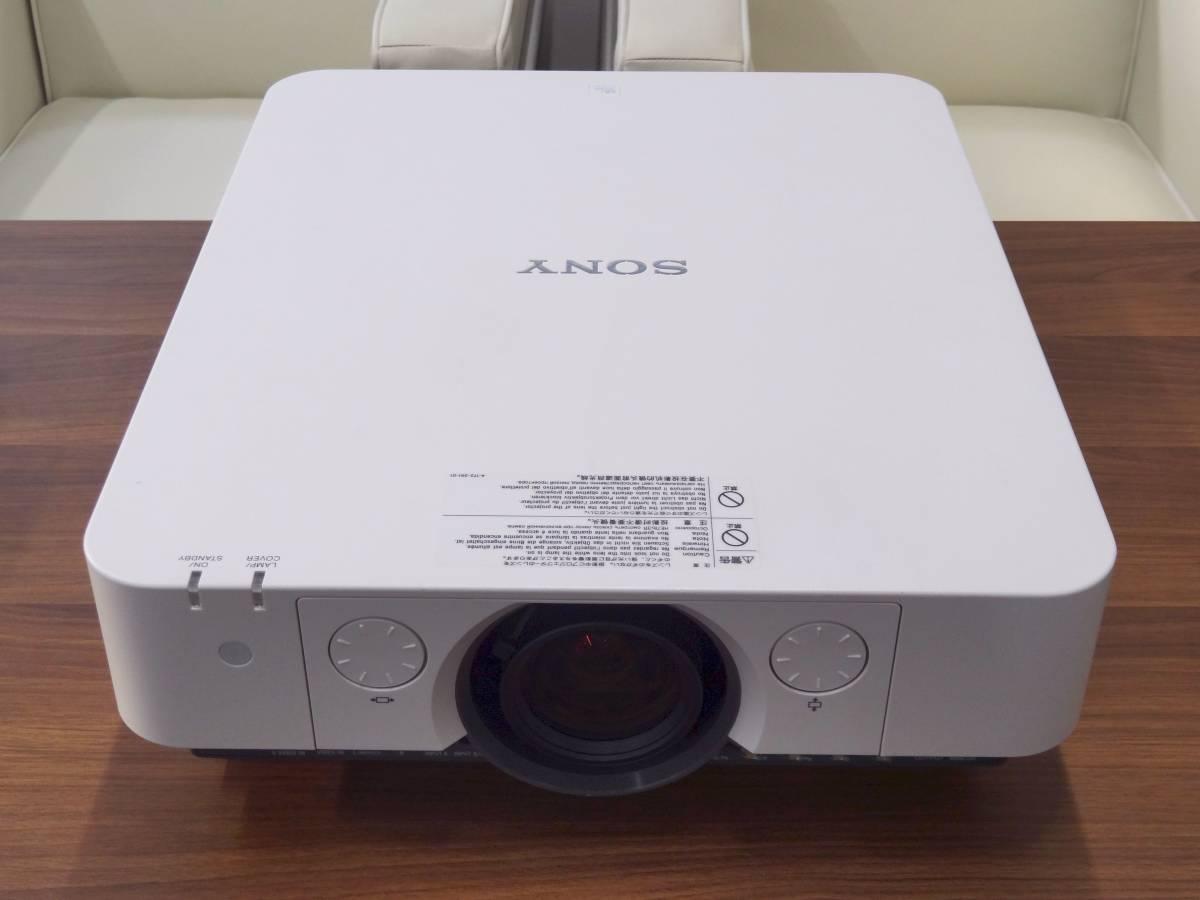 SONY データプロジェクター VPL-FH35 輝度5200lm ランプ時間1081h 高解像度1920×1200