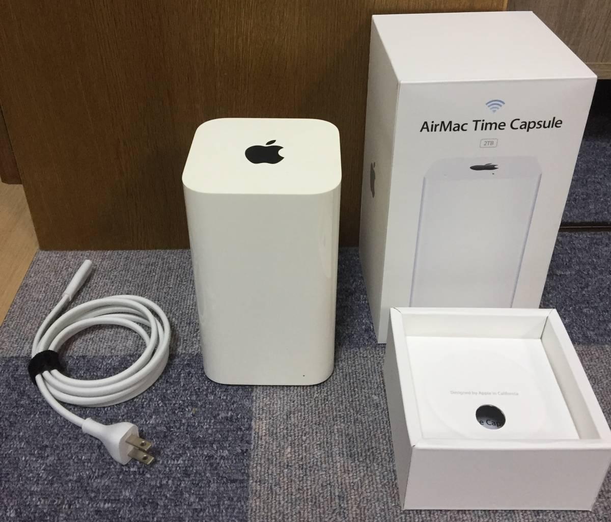 [美中古Bランク] Airmac Time Capsule 2TB ME177J/A 802.11ac エアーマック Apple ルーター Wifi タイムカプセル_画像6