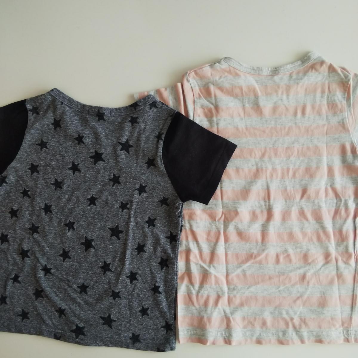 サイズ120 半袖 Tシャツ スカート 4点セット まとめて キッズ 女の子 無印_画像4