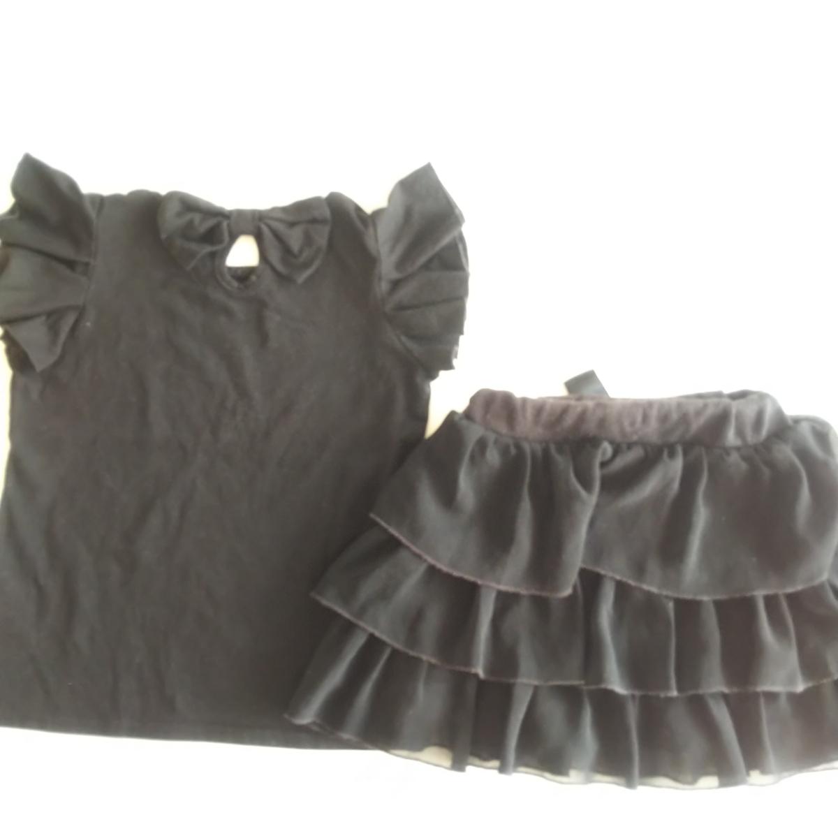 サイズ120 半袖 Tシャツ スカート 4点セット まとめて キッズ 女の子 無印_画像2