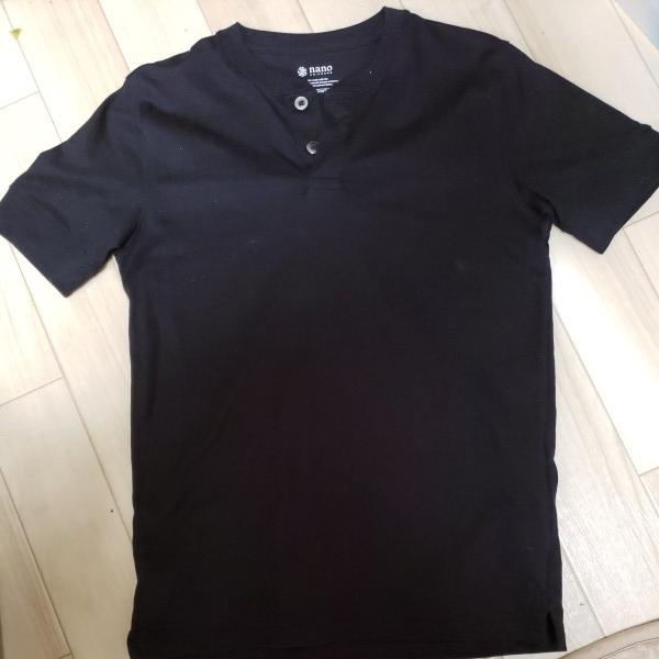 ナノユニバース Anti Soaked ヘビーヘンリーネックTシャツ Mサイズ 現行品_画像4