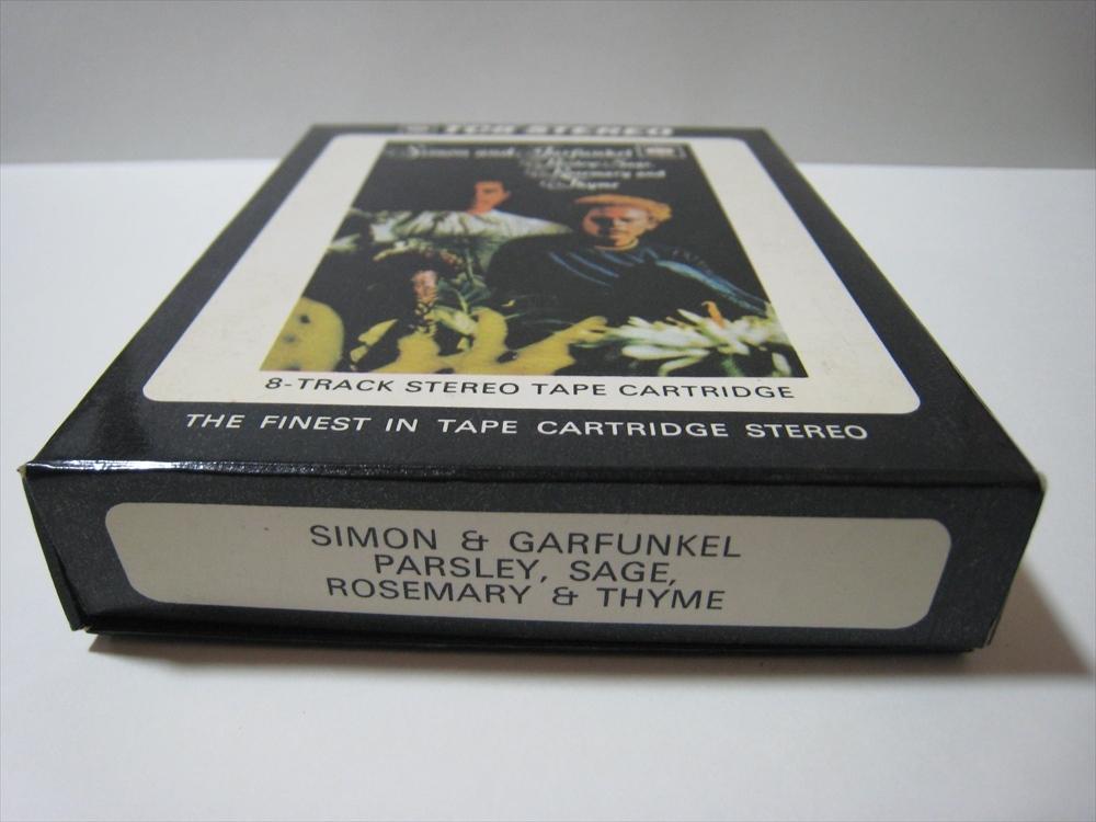 【8トラックテープ】 SIMON & GARFUNKEL / PARSLEY, SAGE, ROSEMARY & THYME UK版 箱付 サイモンとガーファンクル_画像3