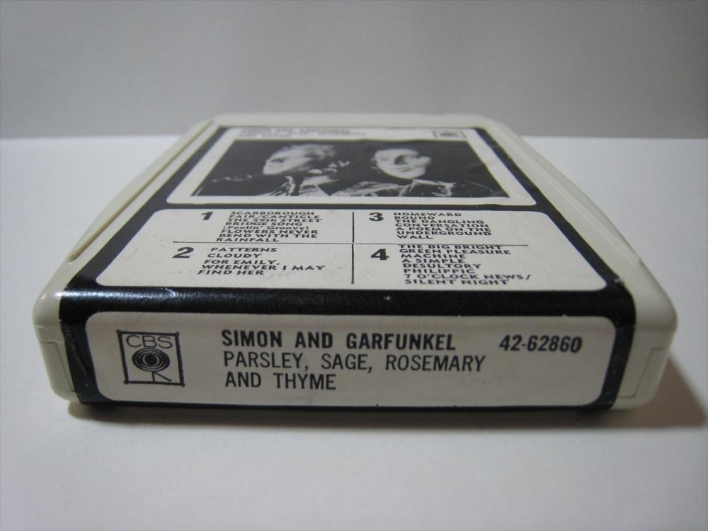 【8トラックテープ】 SIMON & GARFUNKEL / PARSLEY, SAGE, ROSEMARY & THYME UK版 箱付 サイモンとガーファンクル_画像5
