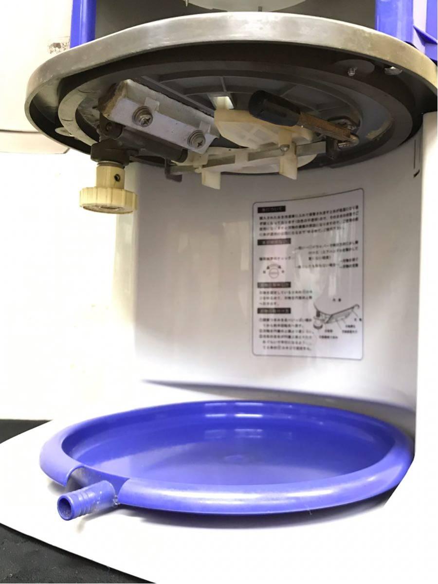 Hatsuyuki 初雪氷削機 HB320A ブロックアイススライサー 業務用 CHUBU 動作OK美品 2011_画像3