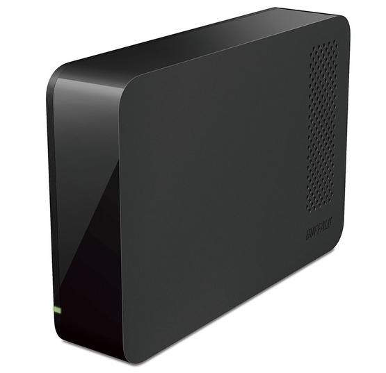 新品未開封 BUFFALO 外付けHDD USB3.1/USB3.0用 24時間録画対応 4TB HD-LL4.0U3-BKF
