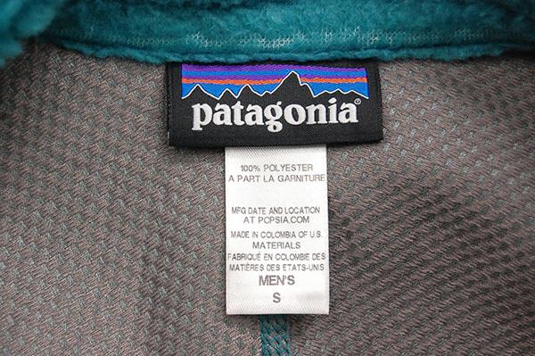 名作!坂口健太郎着!パタゴニア patagonia 2014AW 「Men's Classic Retro-X/クラシックレトロX」 フリースジャケット ターコイズ_画像4