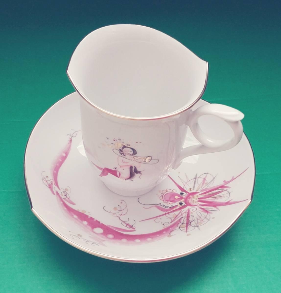 マイセンの人気コーヒーカップ&ソーサー 1客 新品未使用 送料無料