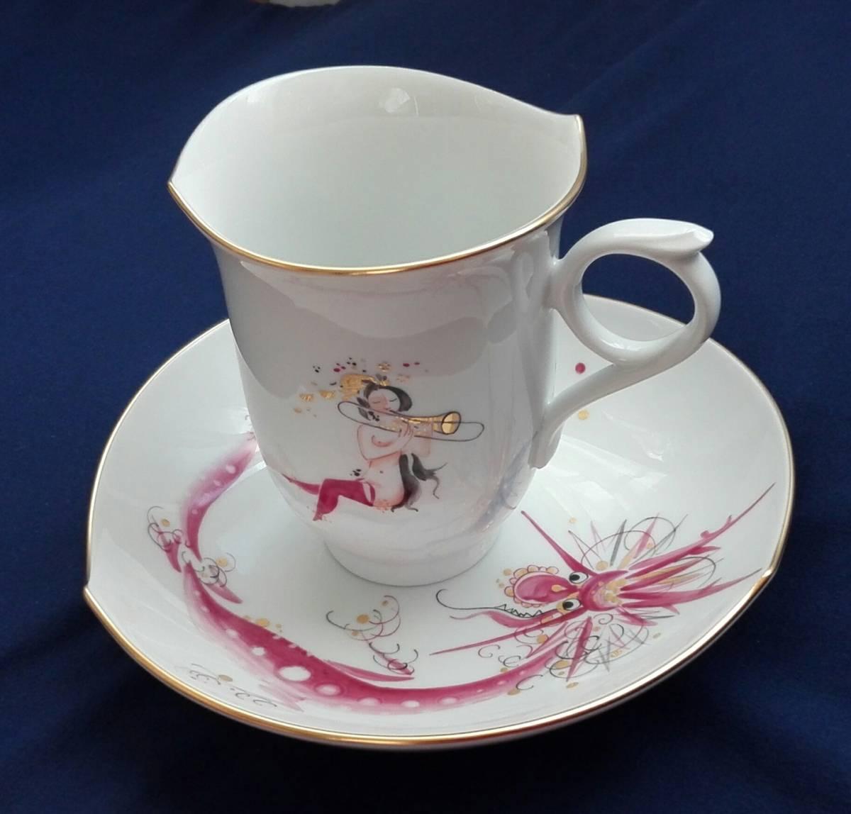 マイセンの人気コーヒーカップ&ソーサー 1客 新品未使用 送料無料_画像10