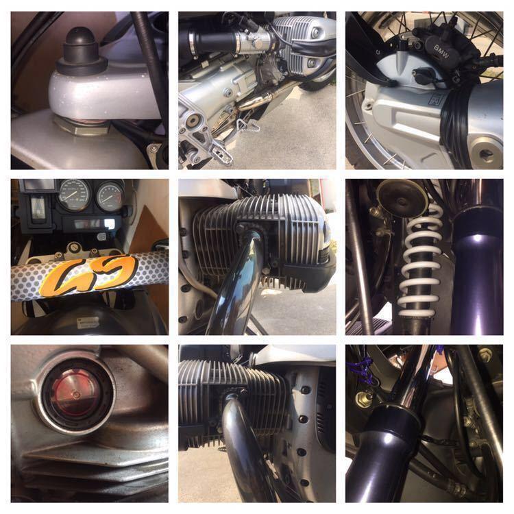 BMW R1150GS 低走行 車検2020年6月まで 個人出品機関好調程度良し ツアラー デュアルパーパス 足つき改良 メンテグッズ付き!_画像8