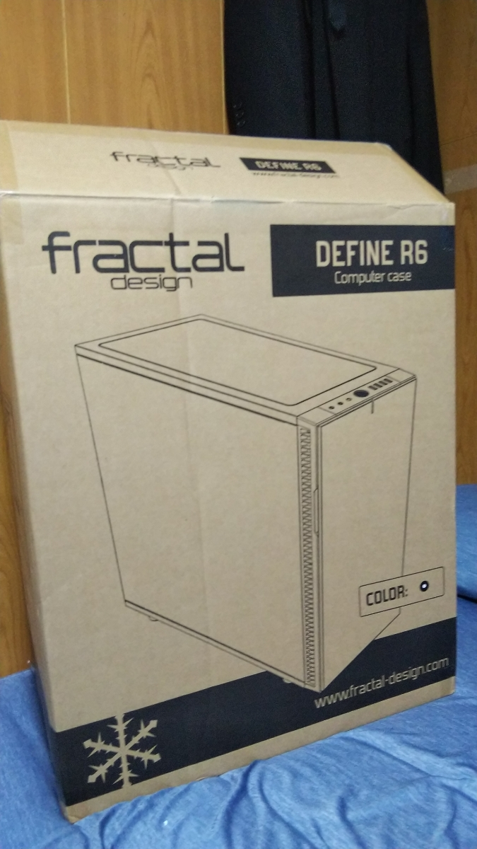 【中古品】fractal design DEFINE R6 ブラック ATXミドルタワーPCケース