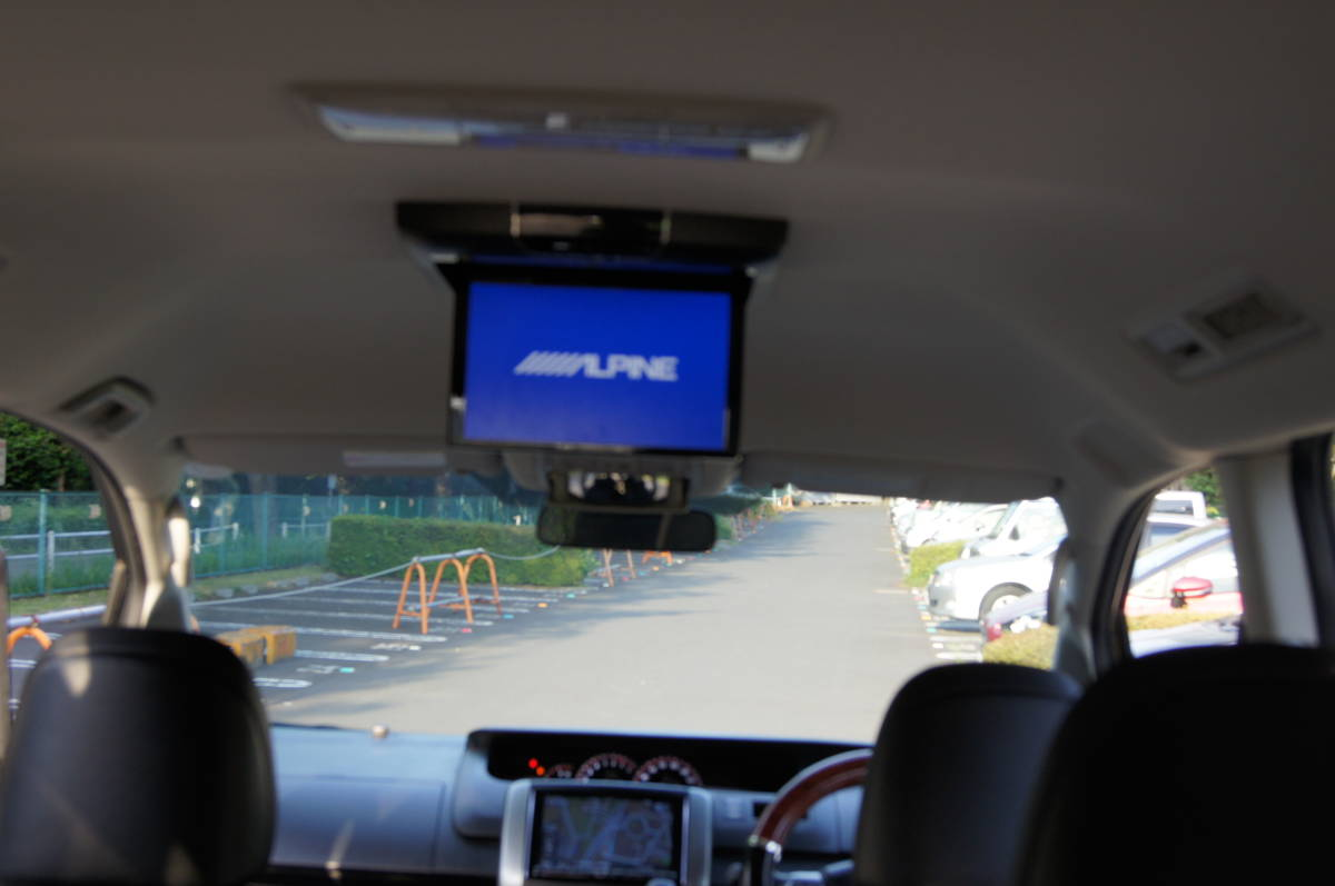 トヨタヴォクシーZS煌めきZ 平成25年、58300km 黒、HIDゴールデンアイズ、車検満タン、 純正17インチナビ、両面パワースラ、売り切り_画像10