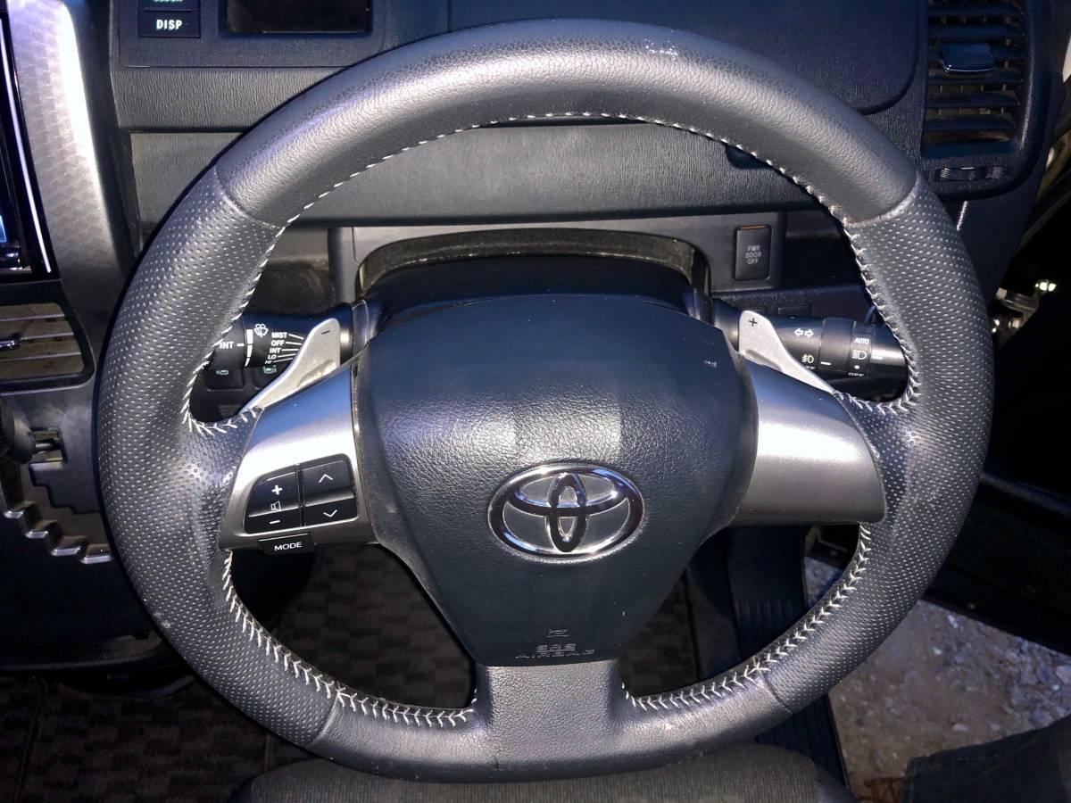 トヨタヴォクシーZS煌めきZ 平成25年、58300km 黒、HIDゴールデンアイズ、車検満タン、 純正17インチナビ、両面パワースラ、売り切り_画像8