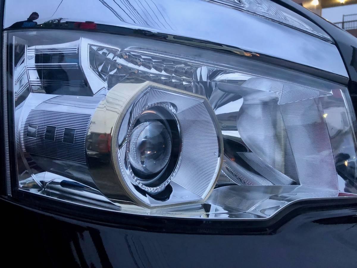 トヨタヴォクシーZS煌めきZ 平成25年、58300km 黒、HIDゴールデンアイズ、車検満タン、 純正17インチナビ、両面パワースラ、売り切り_画像5