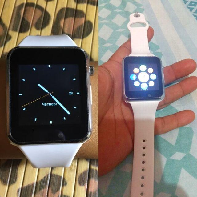 送料無料 新品 A1 スマートウォッチ Bluetooth スマートデジタル 腕時計 watch smart ウォッチ ホワイト 【時刻設定の日本語説明書付】_画像3