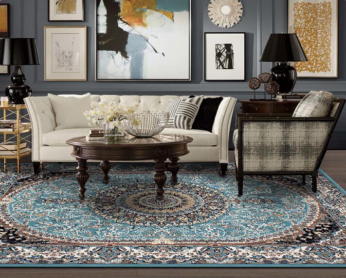 最高級品 【ペルシャ絨毯】 シルク 100%本物保証トルコ産160cm*230cm★ 160万縫い針 美術品 重さ:17.5KG_画像2
