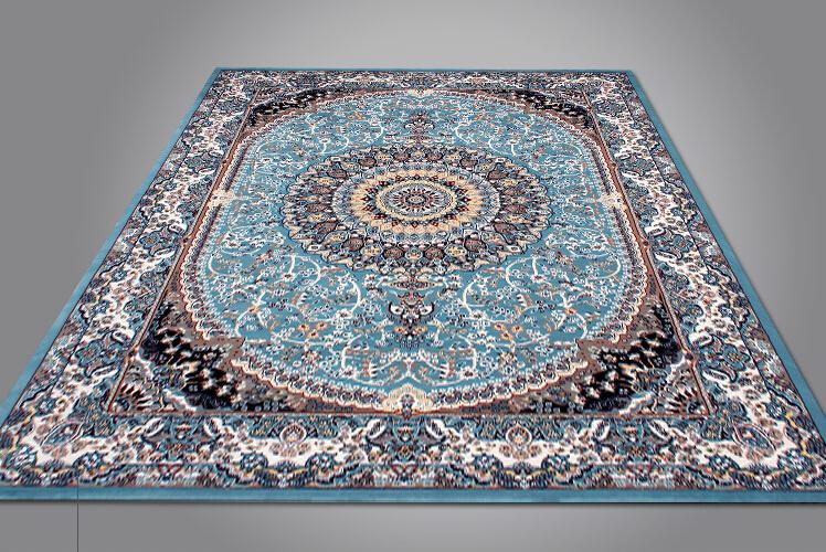 最高級品 【ペルシャ絨毯】 シルク 100%本物保証トルコ産160cm*230cm★ 160万縫い針 美術品 重さ:17.5KG_画像5